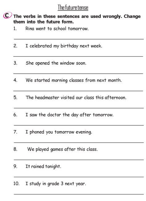 grade 2 grammar lesson 13 verbs the past tense 3
