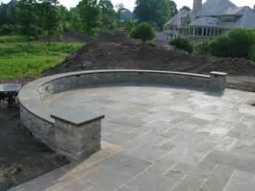 stone patio bar plans landscaping gardening ideas