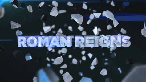 roman reigns custom titantron    theme song  truth reigns youtube