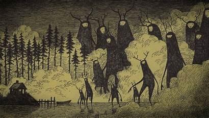 Creepy Scary Spooky Horror Dark Evil Wallpapers