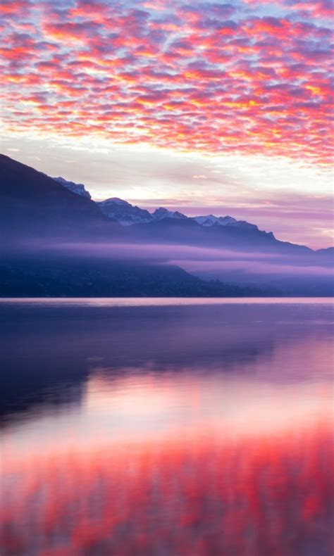pink clouds landscape   wallpapers hd wallpapers