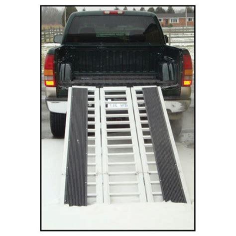 erickson straight  piece hinged aluminum ramp tri