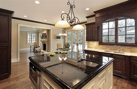 two different granite colors in kitchen how to select the right granite for your kitchen 9502