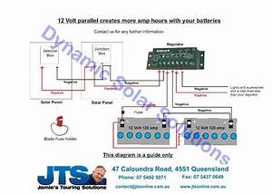 How To Wire Two 24v Solar Panels In Parallel With Two  12v  U2013 Readingrat Net