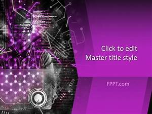 Free Technology Powerpoint Template