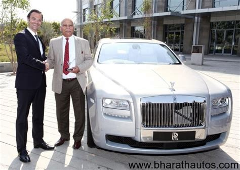 rolls royce appoints authorized dealer  chandigarh