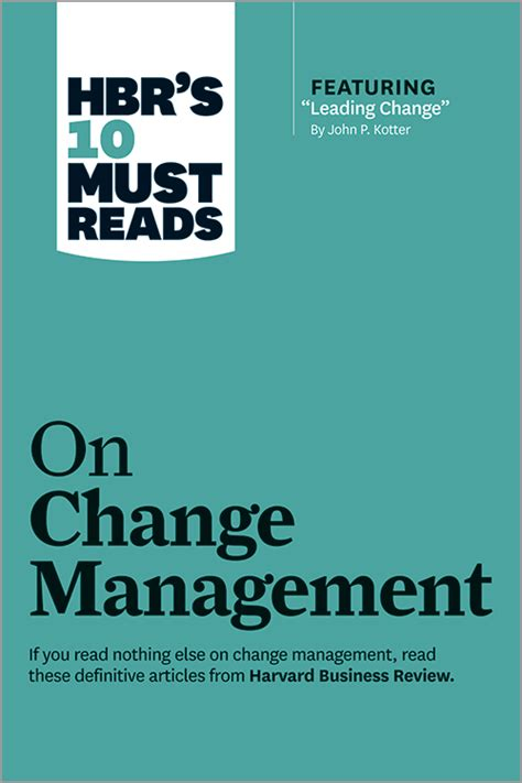 hbrs   reads  change management including