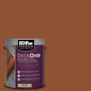 behr premium deckover 1 gal sc 122 redwood naturaltone