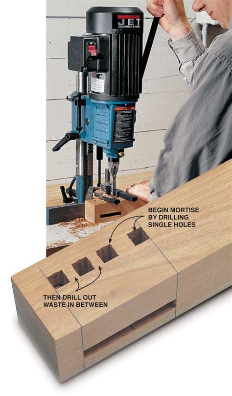 mortising  machine popular woodworking magazine