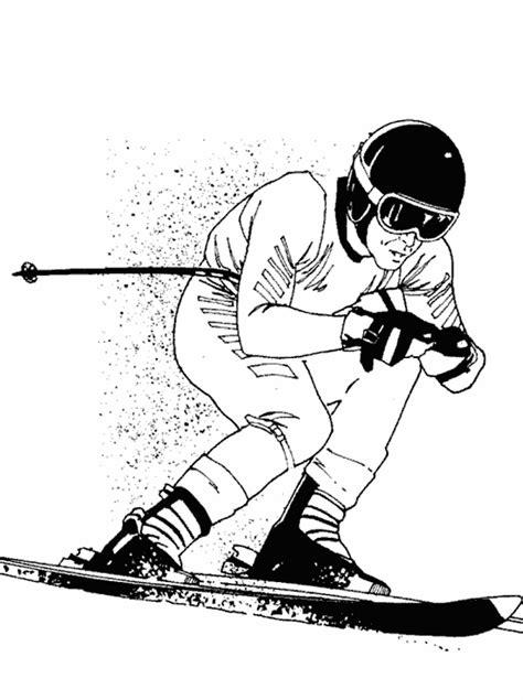 jeux cuisine gratuit en ligne coloriage sports ski à colorier allofamille