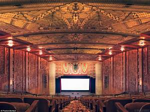 Hollywood39s golden age inside america39s ornate 1930 for Art deco cinema interior