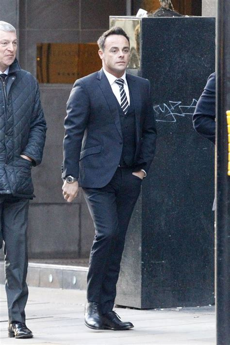 Ant McPartlin looks the picture of health as he arrives at ...