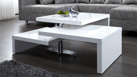 table basse design blanche modulable en bois mdf durban gdegdesign