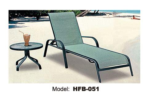 chaise pliante aluminium textilene textilene fabric metal outdoor pool chair chaise lounge 101011867
