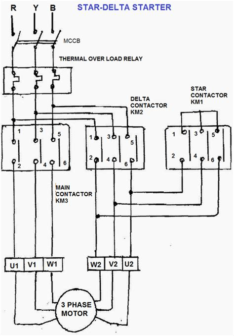Wye Start Delta Run Motor Wiring Diagram Download
