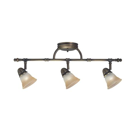legacy bronze  light champagne marble glass rail