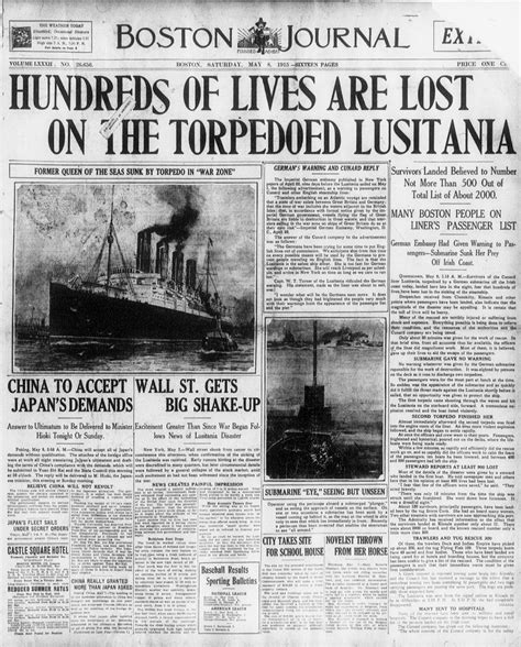 When Did Germany Sink The Lusitania by The Lusitania Sinks With Images Tweets 183 Brycefulford