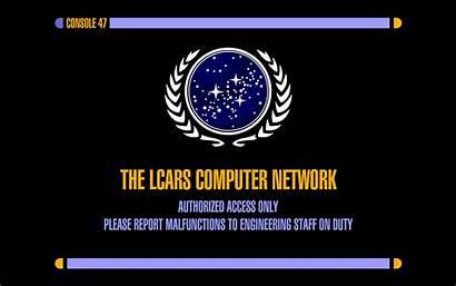 Lcars Trek Star Computer Network Desktop Networking