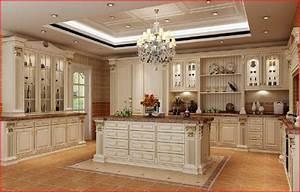 Cuisine équipée Bois : cuisine bois massif sgj cuisine design deluxe votre ~ Premium-room.com Idées de Décoration