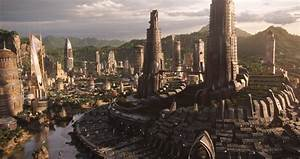 The architecture of Black Panther