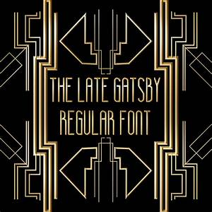 The Late Gatsby Font - Befonts.com