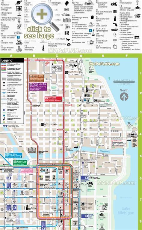 Printable Map Of Downtown Chicago Streets | Printable Maps