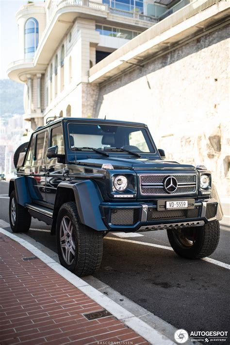 Having set the standards for luxury automobiles for almost a century, mercedes never rest on their laurels and continue to produce. Mercedes-Maybach G 650 Landaulet W463 - 25 March 2019 - Autogespot