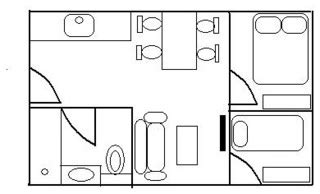 designer kitchen faucet what do you think of this floor plan for a small apartment 3239