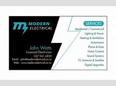 Electrician Business Card Design Images Business Card