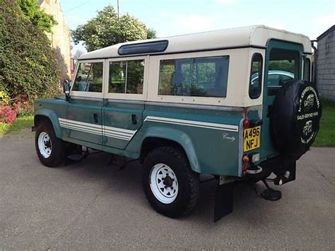 sell  land rover defender  county station wagon