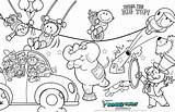 Circus Coloring Pages Fun Carnival Sheets Animals Cool Books Children Printables Scribble Animal Scribbleblog sketch template