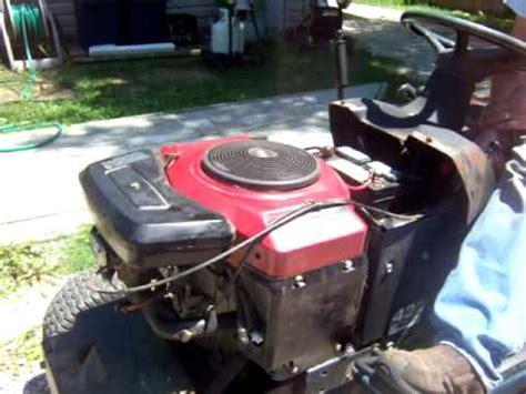 Briggs 19.5 hp I/C Platinum Engine - YouTube