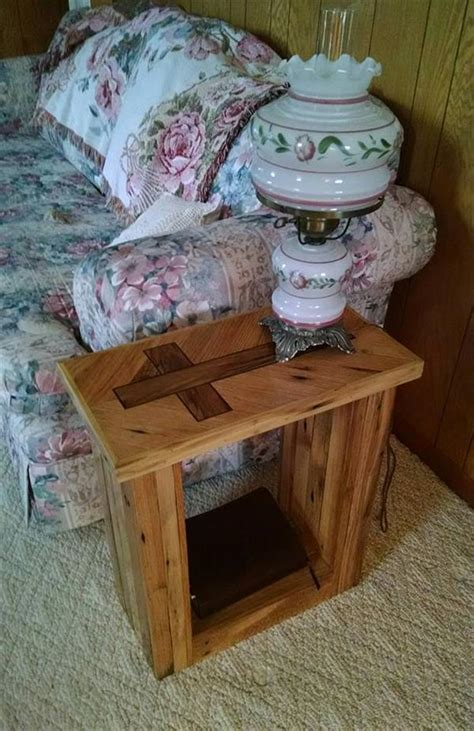 beautiful pallet wood side table lush ideas pallets designs