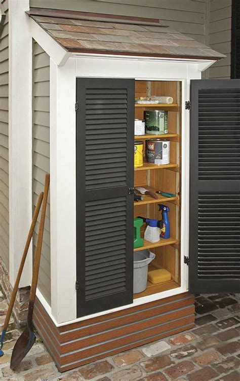 diy garden  yard sheds expand  storage amazing