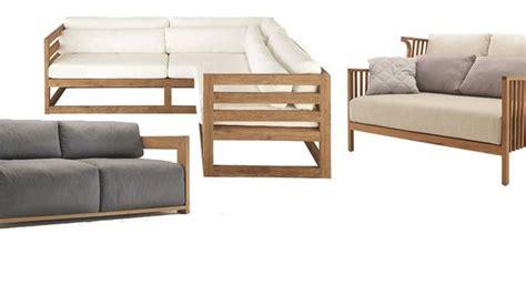 canapé jardin bois meubles en kit pour le jardin canapé dextérieur avec des