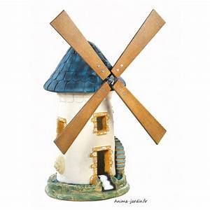 Décoration Jardin Pas Cher : moulin vent ardoise d coration de jardin 68 cm achat pas cher ~ Carolinahurricanesstore.com Idées de Décoration