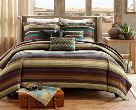Bedding Coverlets by Arizona Sky Coverlet Set Southwest Ranch