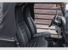Leather upholstery kit for front seats [Jeep Wrangler YJ