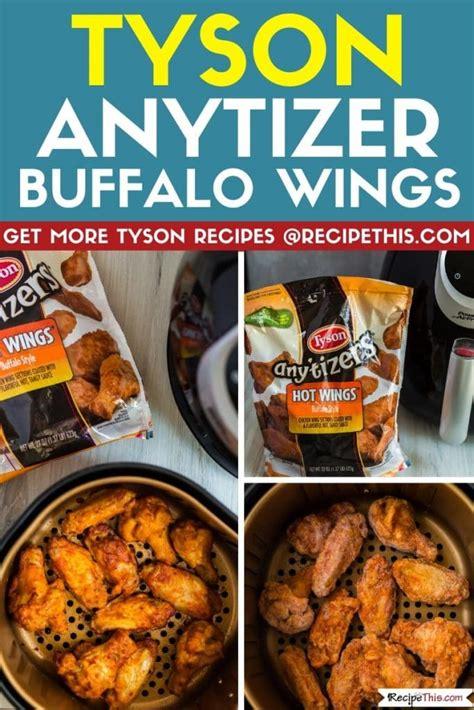 tyson wings frozen chicken fryer air recipethis recipes bbq