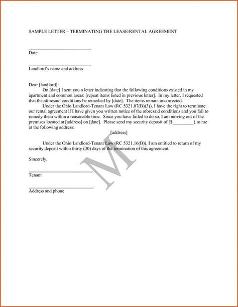 rental agreement letter letter of agreement sles template 15480
