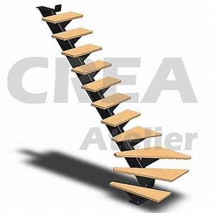 Calcul Escalier Quart Tournant : c tes escalier quart tournant ~ Dailycaller-alerts.com Idées de Décoration
