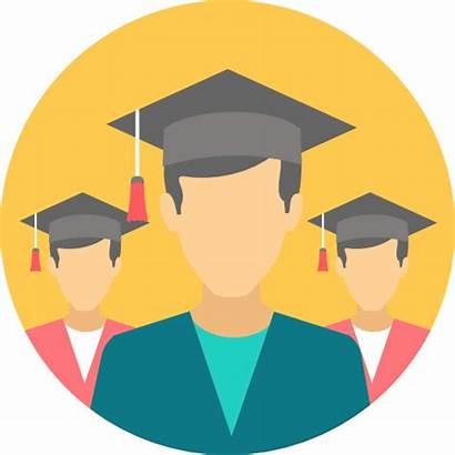 Graduate Silhouette Clipart Student Graduation Students Academic