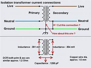 Isolation Transformer Current Connection