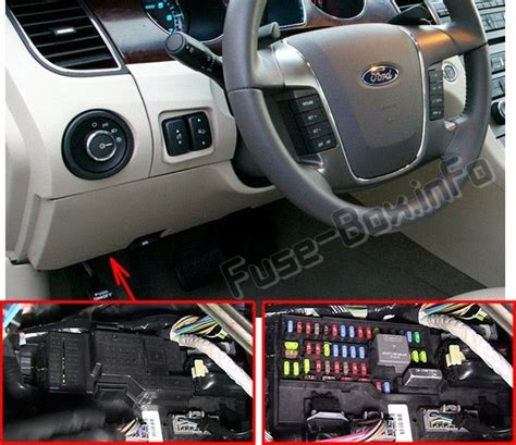 mustang fuse box location schematic  wiring diagram