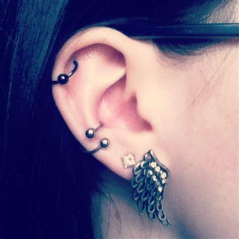 piercing oreille conch best 25 conch piercings ideas on ear piercings conch conch and conch hoop