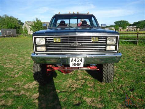 1984 Chevrolet 4x4 Pickup Monster Truck Hotrod Custom