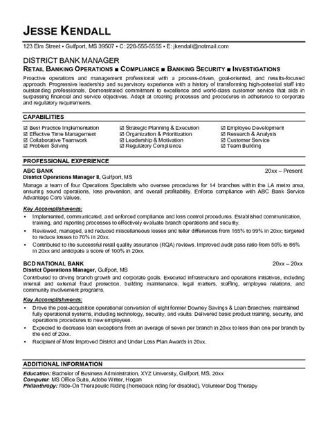 banking executive manager resume template banking executive manager resume template are