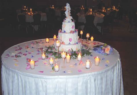 Wedding Cake Tables Decorating Ideas Elitflat