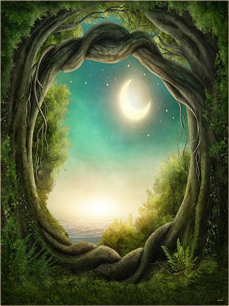 buy discount kate fantasy background moon forest