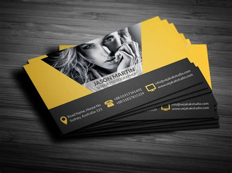 Photography Business Card On Behance Business Cards Jackson Ms Card Yangon Game For Cheap Miami Kuala Lumpur Images Dimensions Pixels